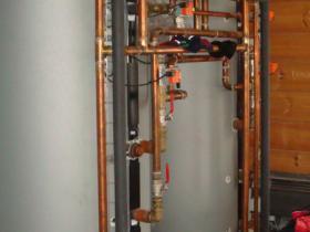 Motáž strojovny tepelného čerpadla, plynového kotle na tuhá paliva 003