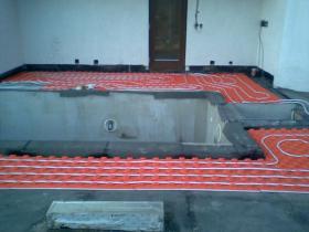 Montáž tepelného čerpadla, podlahové vytápění - Benešov-2008 003