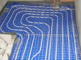 Montáž podlahového topení - Liberec-Vesec únor 2011 009