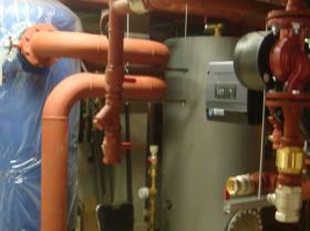 Montáž strojovny tepelných čerpadel - Žirovnice 037