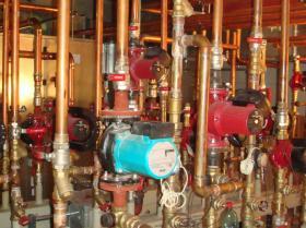 Montáž strojovny tepelných čerpadel - Žirovnice 024