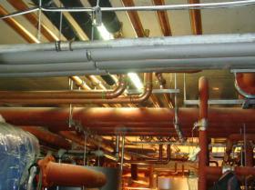 Montáž strojovny tepelných čerpadel - Žirovnice 044