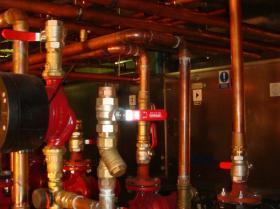 Montáž strojovny tepelných čerpadel - Žirovnice 028