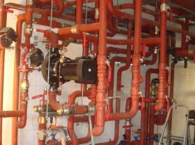 Montáž strojovny tepelných čerpadel - Žirovnice 001