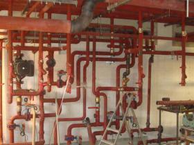 Montáž strojovny tepelných čerpadel - Žirovnice 007