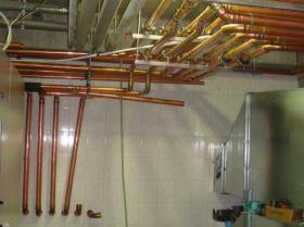 Montáž strojovny tepelných čerpadel - Žirovnice 019