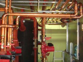 Montáž strojovny tepelných čerpadel - Žirovnice 031