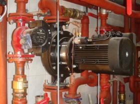 Montáž strojovny tepelných čerpadel - Žirovnice 003
