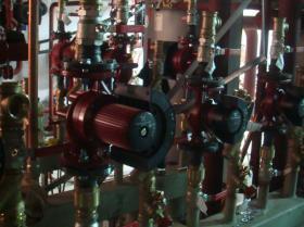 Montáž strojovny tepelných čerpadel - Žirovnice 026
