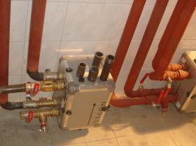 Montáž strojovny tepelných čerpadel - Žirovnice 009