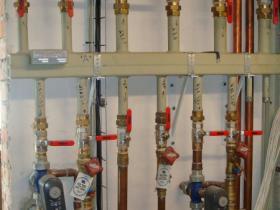 Motáž strojovny tepelného čerpadla, plynového kotle na tuhá paliva 006
