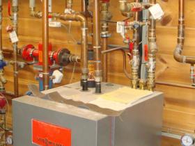 Motáž strojovny tepelného čerpadla, plynového kotle na tuhá paliva 008