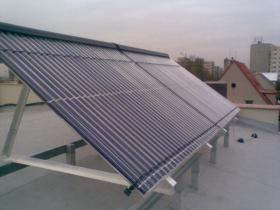 Solární kolektor - Pardubice- 2009 001